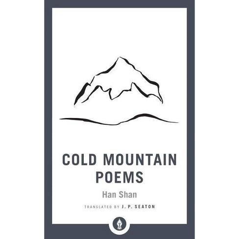Cold Mountain Poems Shambhala Pocket Library By Han Shan Paperback
