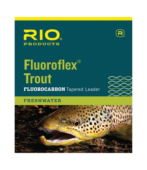 RIO Fluoroflex Tapered Fluorocarbon Fly Fishing Leaders - image 1 of 2
