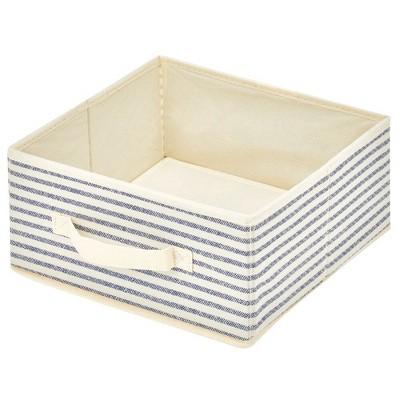 mDesign Fabric Modular Closet Organizer Box for Cube Units, 8 Pack