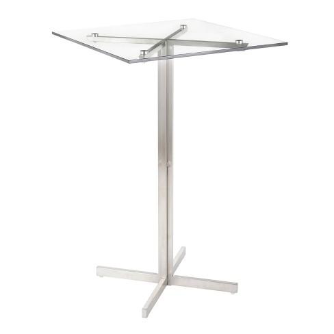 Fuji Contemporary Square Bar Table - LumiSource - image 1 of 4