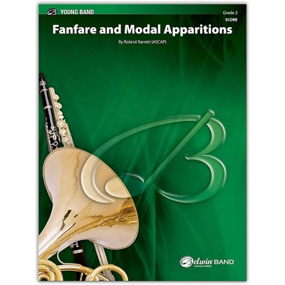 BELWIN Fanfare and Modal Apparitions Conductor Score 2 (Easy)