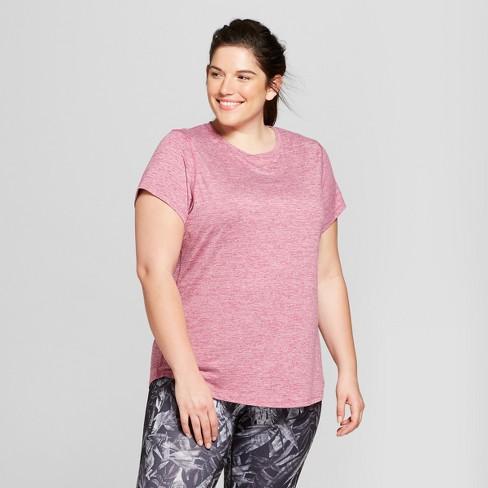 dd621fec261e4 Women s Plus-Size Soft Tech T-Shirt - C9 Champion® Grapevine Purple ...