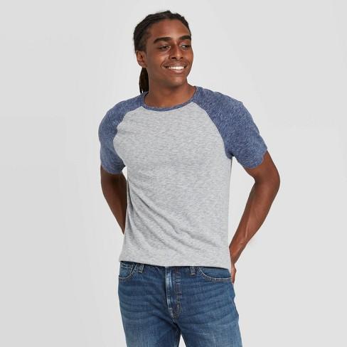 Men's Standard Fit Novelty Crew Neck T-Shirt - Goodfellow & Co™ Gray - image 1 of 3