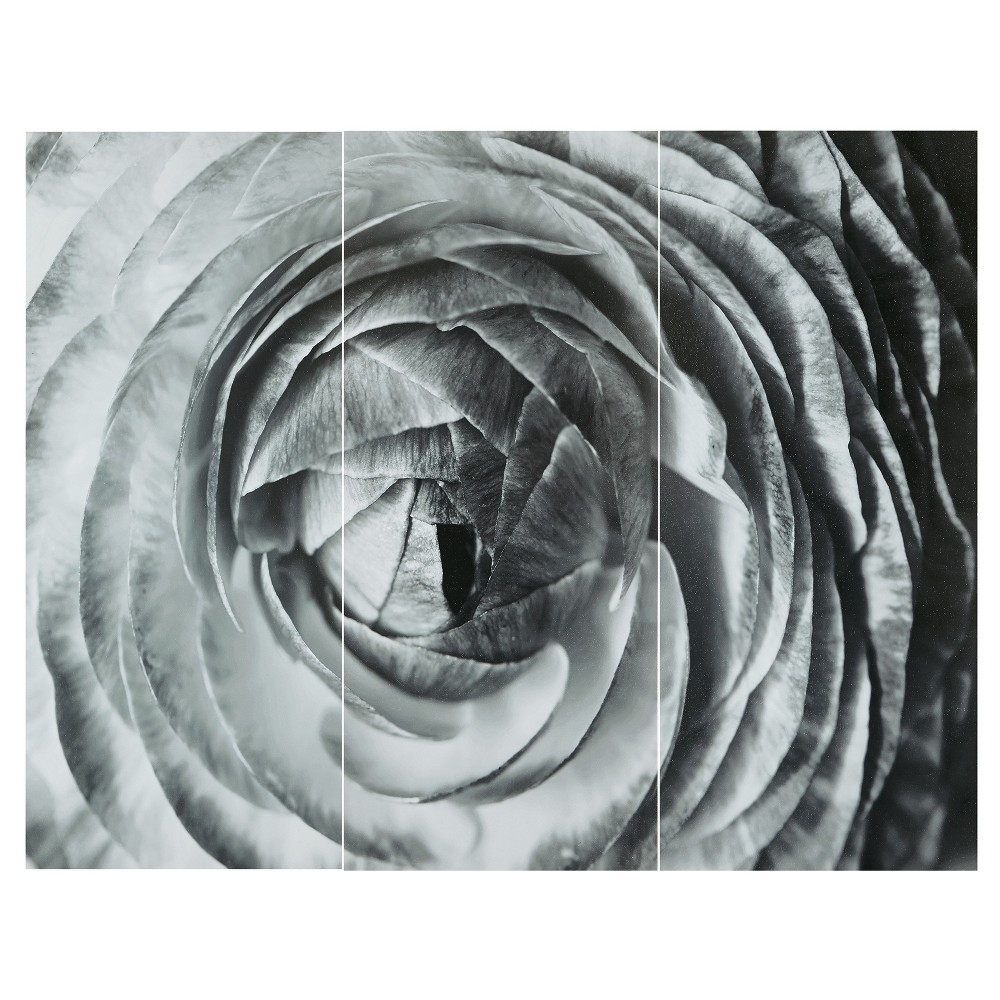 Image of Unframed Wall Canvas 18 X 38 X 5.9, Black