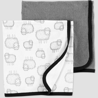 Baby blanket set - Just One You® made by carter's Gray Osfm