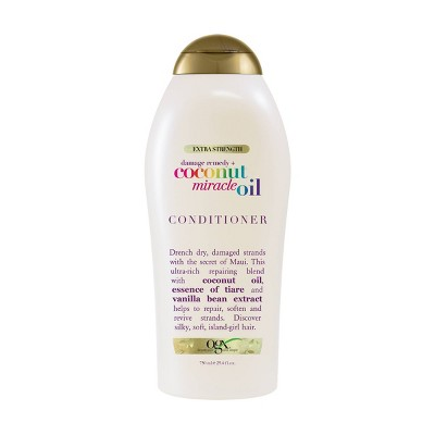 OGX Extra Strength Coconut Miracle Oil Conditioner - 24.4 fl oz