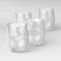 13.4oz 4pk Wine Glasses - Room Essentials™