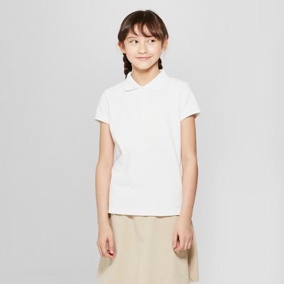 4 Pcs NWT  M 8//10T CAT/&JACK Boys Girls Gray Polo T Shirts SOLID SCHOOL UNIFORM