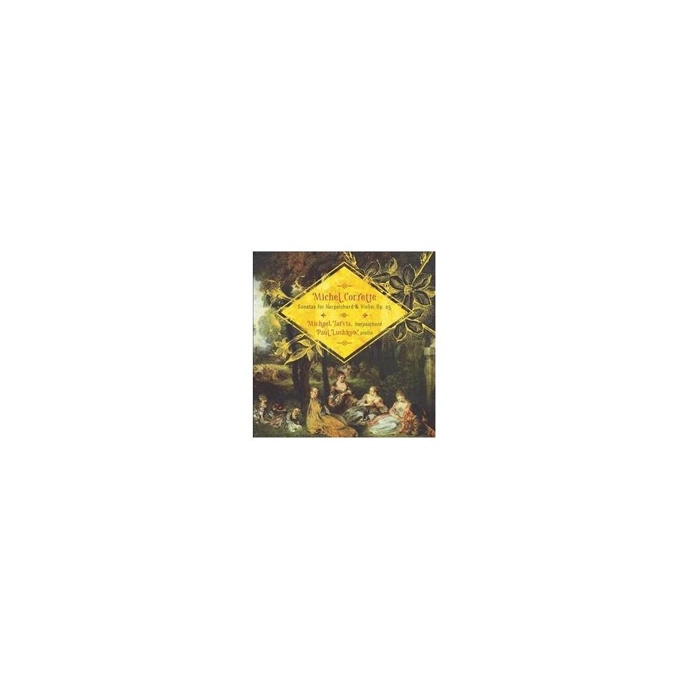 Luchkow-jarvis Duo - Corrette:Sonatas For Harpsichord (CD)