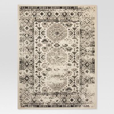 Cream Medallion Woven Area Rug 4'X6' - Threshold™
