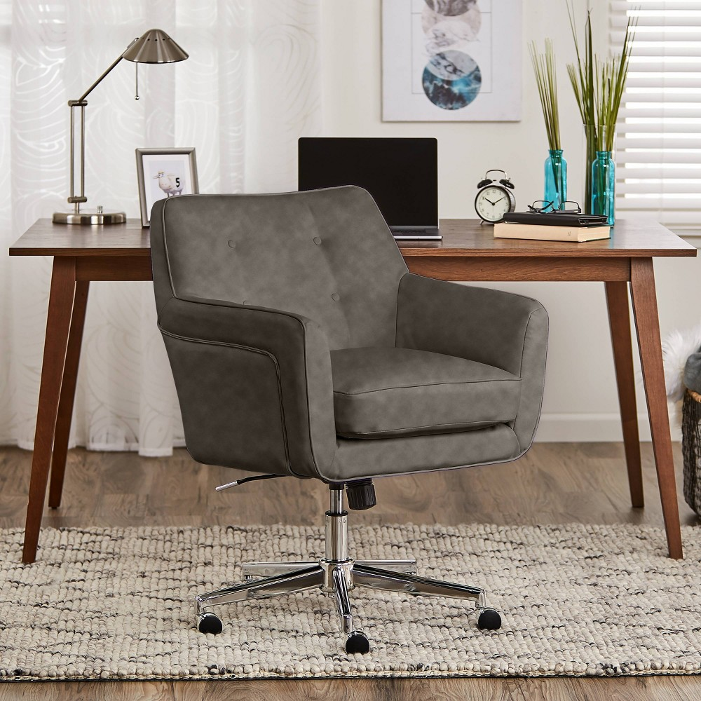 Style Ashland Home Office Chair Gathering Gray - Serta was $439.99 now $285.99 (35.0% off)