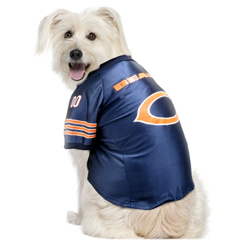 the latest 50f3c bfb0d Chicago Bears Little Earth Pet Premium Football Jersey - Navy XL