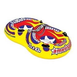 "Sportsstuff Inflatable 71"" Double Amerisport Snow Tube with Handles | 30-2525"