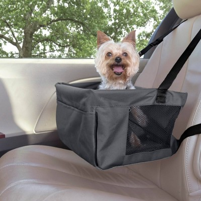 Premier Pet Car Booster Dog and Cat Seat - Black