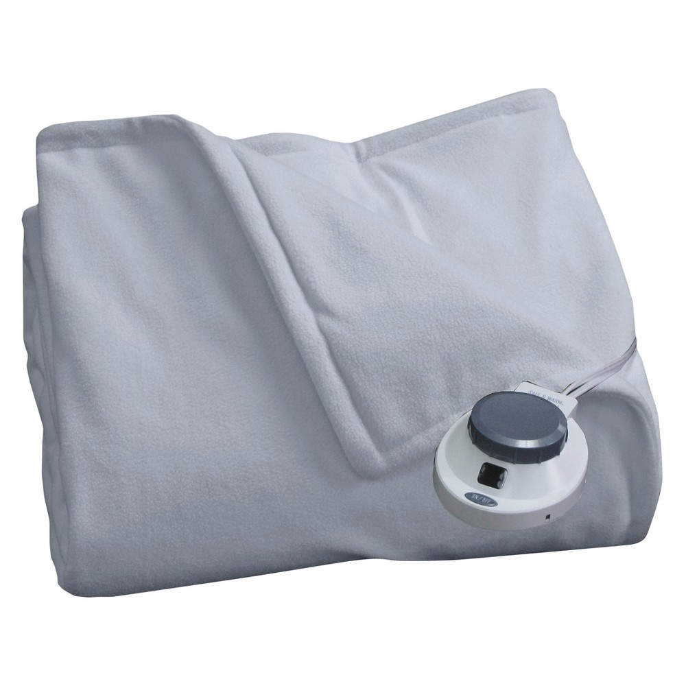 Micro Fleece Warming Blanket Slate Blue (Twin) - SoftHeat