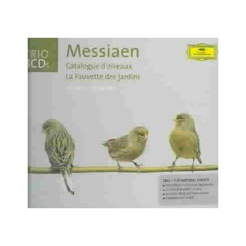 Bingaman - Olivier Messiaen: Catalogue d'oiseaux; La Fauvette des jardins (CD) - image 1 of 1