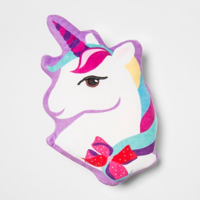 JoJo Siwa Unicorn Squishy Throw Pillow