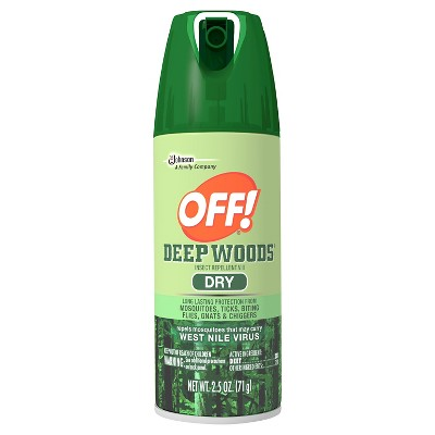 OFF! Deep Woods Insect Repellent VIII Dry 2.5oz
