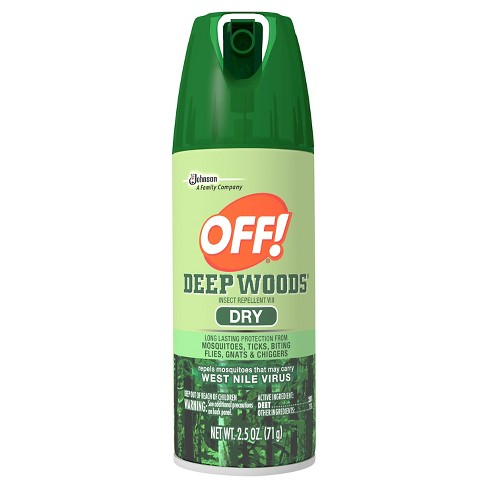 OFF! Deep Woods Insect Repellent VIII Dry 2.5oz - image 1 of 1