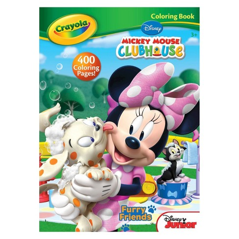 Crayola® Coloring Book - Disney\'s Mickey Mouse Clubhouse