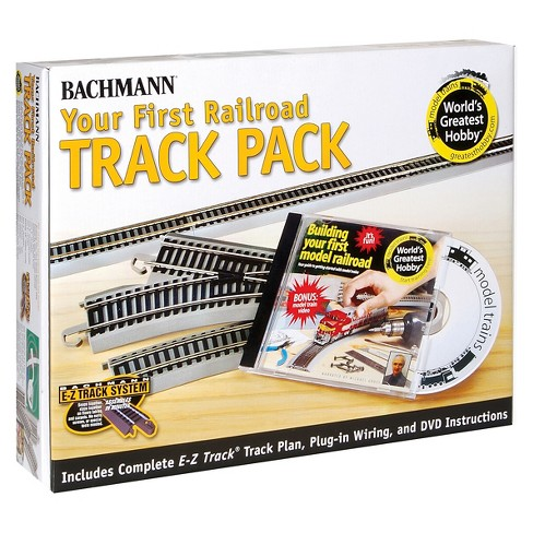 Bachmann Trains Nickel Silver World's Greatest Hobby First Railroad Track Pack - HO Scale - image 1 of 1