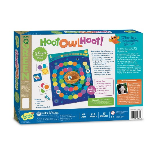 Hoot Owl Hoot! Board Game image number null