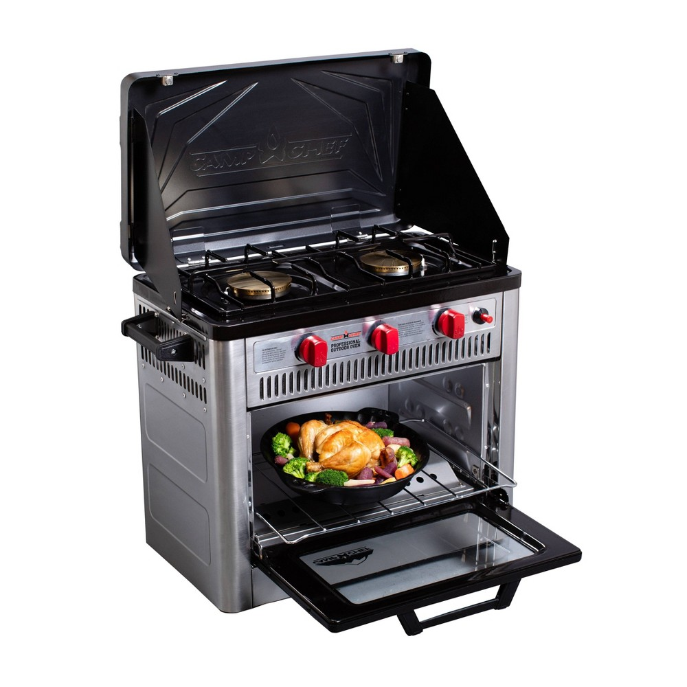 Image of Camp Chef Professional Outdoor Oven - Stainless Steel, Silver