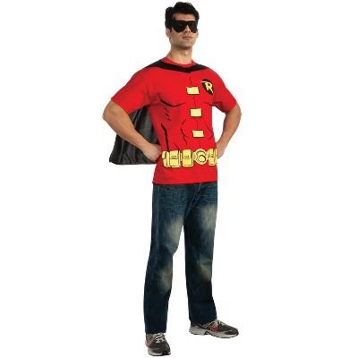 Rubies Robin (Male) T-Shirt Adult Costume Kit