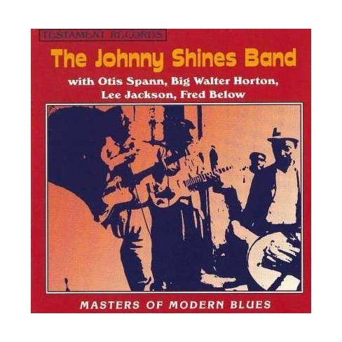 Johnny Shines - Johnny Shines Masters of Modern Blues (CD) - image 1 of 1