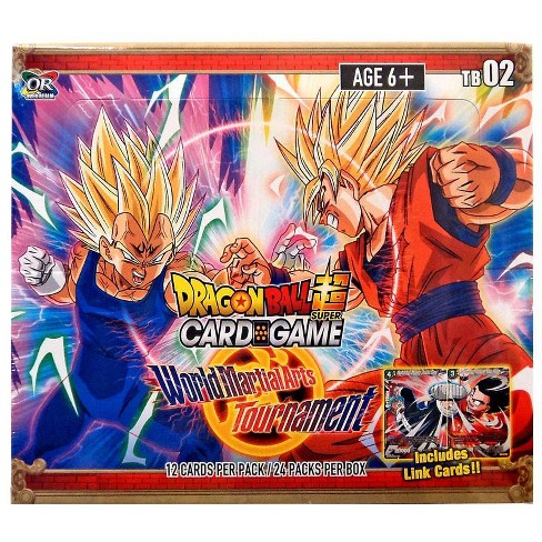 Dragon Ball Super Collectible Card Game Theme Booster 2 World Martial Arts Tournament World Martial Arts Tournament Booster Box DBS-TB02 [24 Packs] - image 1 of 1