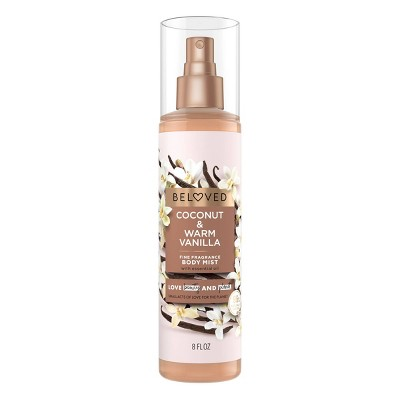 Beloved Coconut & Warm Vanilla Body Mist - 8 fl oz