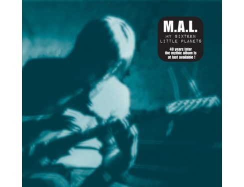 M.A.L. - My Sixteen Little Planets (CD) - image 1 of 1