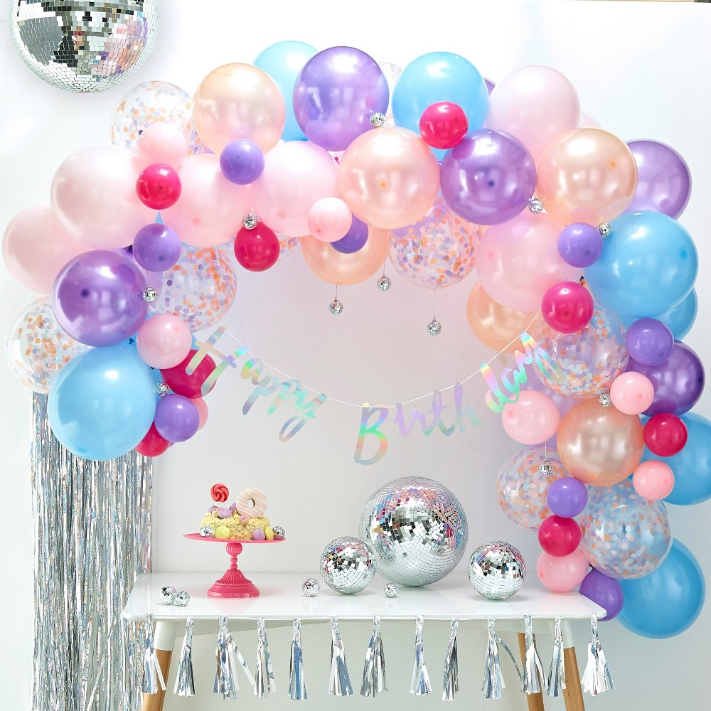 Image of Balloon Arch Pastel, balloons and balloon accessories