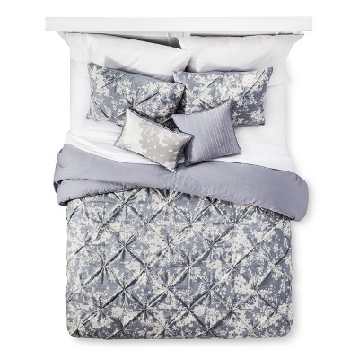 Gray Natalie Cotton Multiple Piece Comforter Set (King)5p