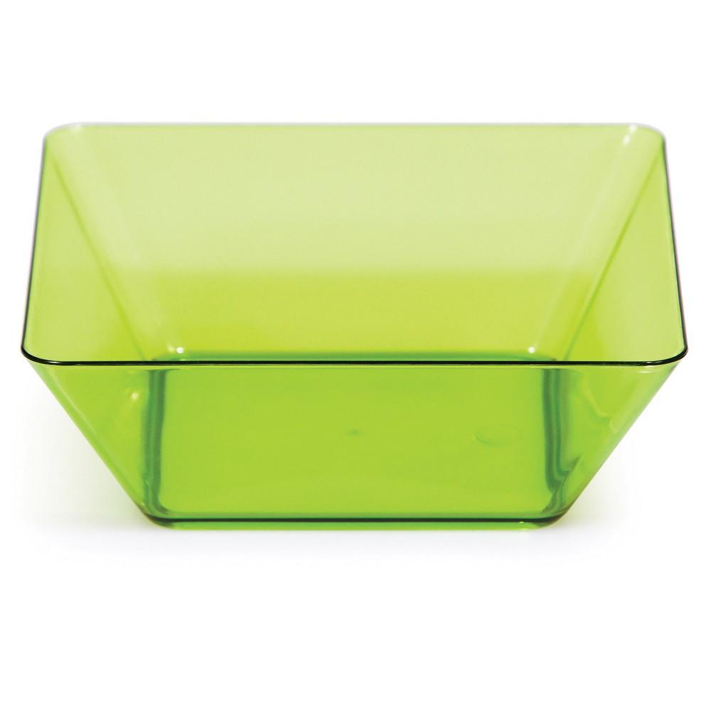 4ct Green Bowl, Disposable Dinnerware