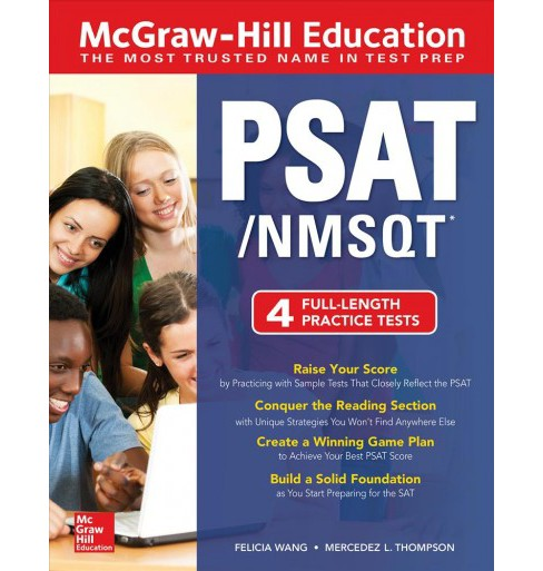 McGraw-Hill Education PSAT/NMSQT -  by Felicia Wang & Mercedez L. Thompson (Paperback) - image 1 of 1