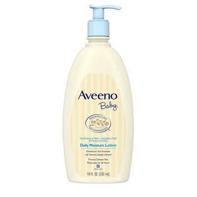 Baby Lotion: Aveeno Baby Daily Care