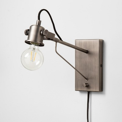Wall Sconce Pewter - Hearth & Hand™ with Magnolia