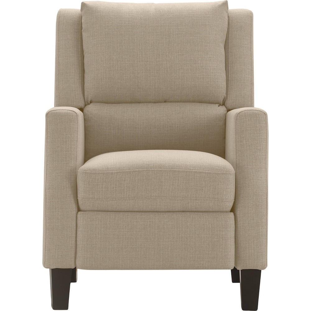 Image of Bristol Push Back Recliner Chair Sand - Click Décor, Brown