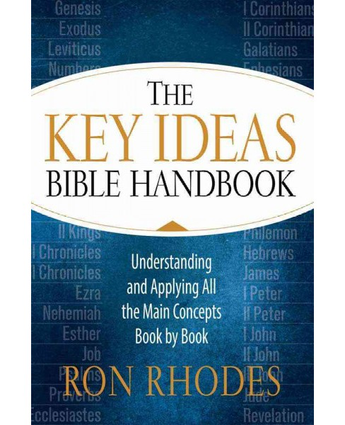 Key Ideas Bible Handbook (Paperback) (Ron Rhodes) - image 1 of 1