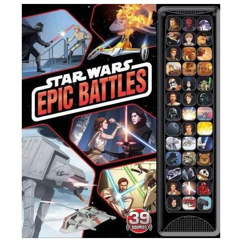 Star Wars: 39-Button Sound: Epic Battles - (39-Button Sound Books) by  Benjamin Harper (Board_book)