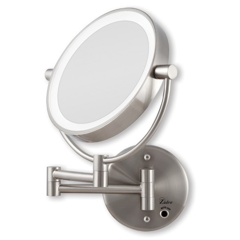 Zadro Next Generation Cordless Or Ac Led Lighted Wall Mount Mirror