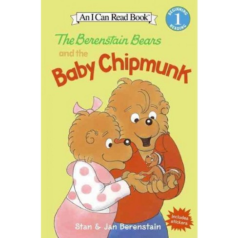 The Berenstain Bears and the Baby Chipmunk - (I Can Read Level 1) by  Jan Berenstain & Stan Berenstain - image 1 of 1