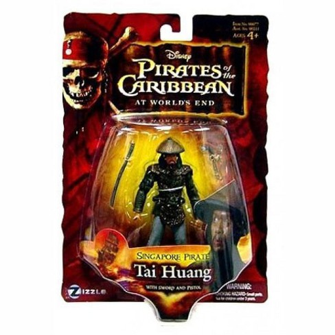 Pirates of the Caribbean At World's End Series 3 Tai Huang Action Figure [Singapore Pirate] - image 1 of 1