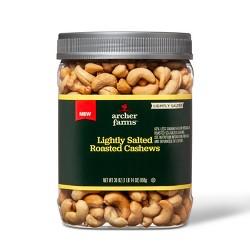 Lightly Salted Roasted Cashews - 30oz - Archer Farms™
