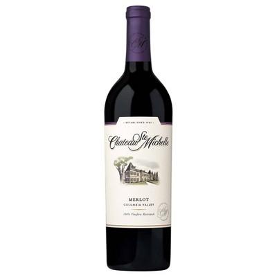 Chateau Ste. Michelle Merlot Red Wine - 750ml Bottle
