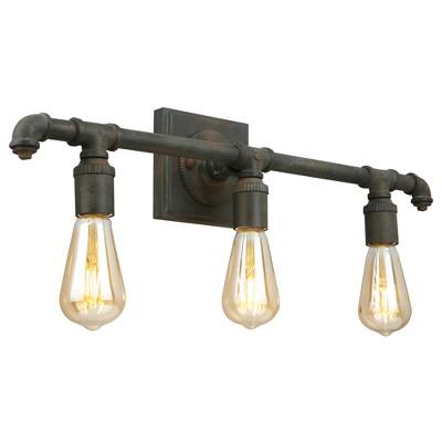 Wymer 3 Vanity Light Bronze - EGLO