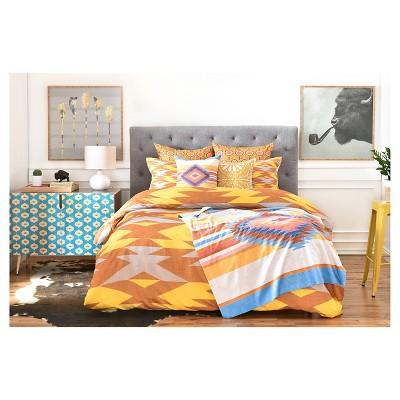 Holli Zollinger Bright Native Diamond Pillow Sham Yellow - Deny Designs®