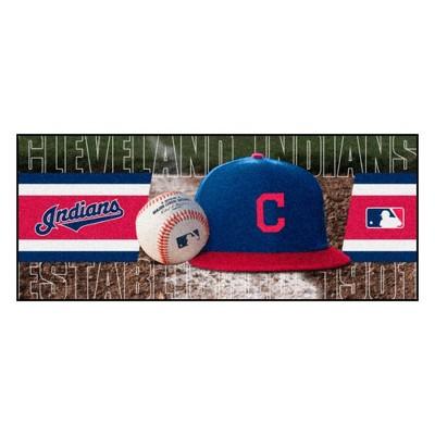 """MLB Cleveland Indians 30""""x72"""" Runner Rug"""