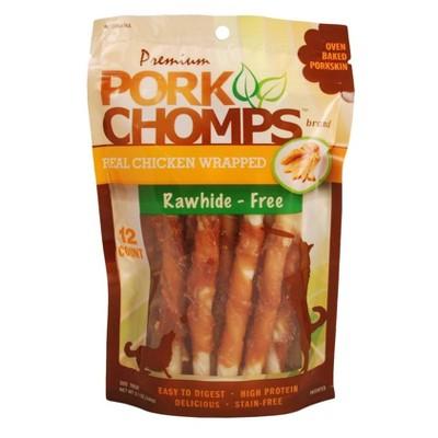 Nutri Chomps Pork Real Chicken Wrapped Mini Twist - 5